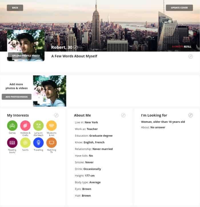 Profile On Amolatina Com